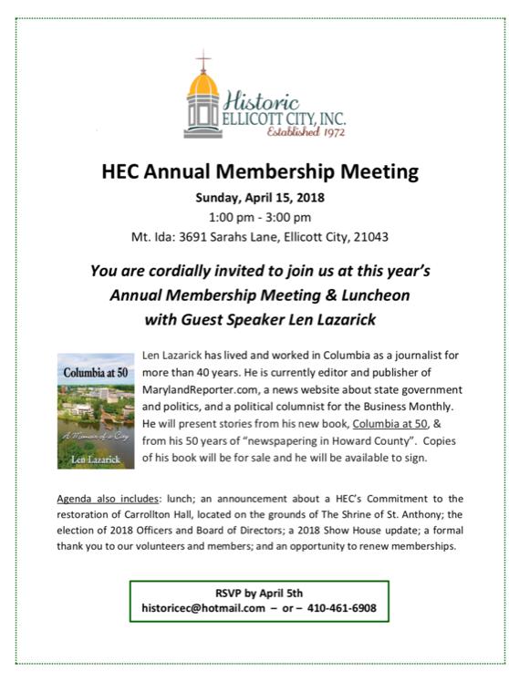 HEC Annual Membership Meeting